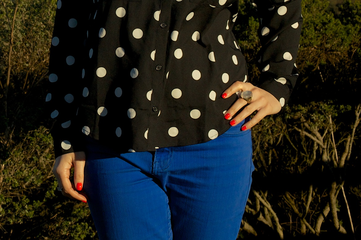 Black, Blue, & Dotted All Over