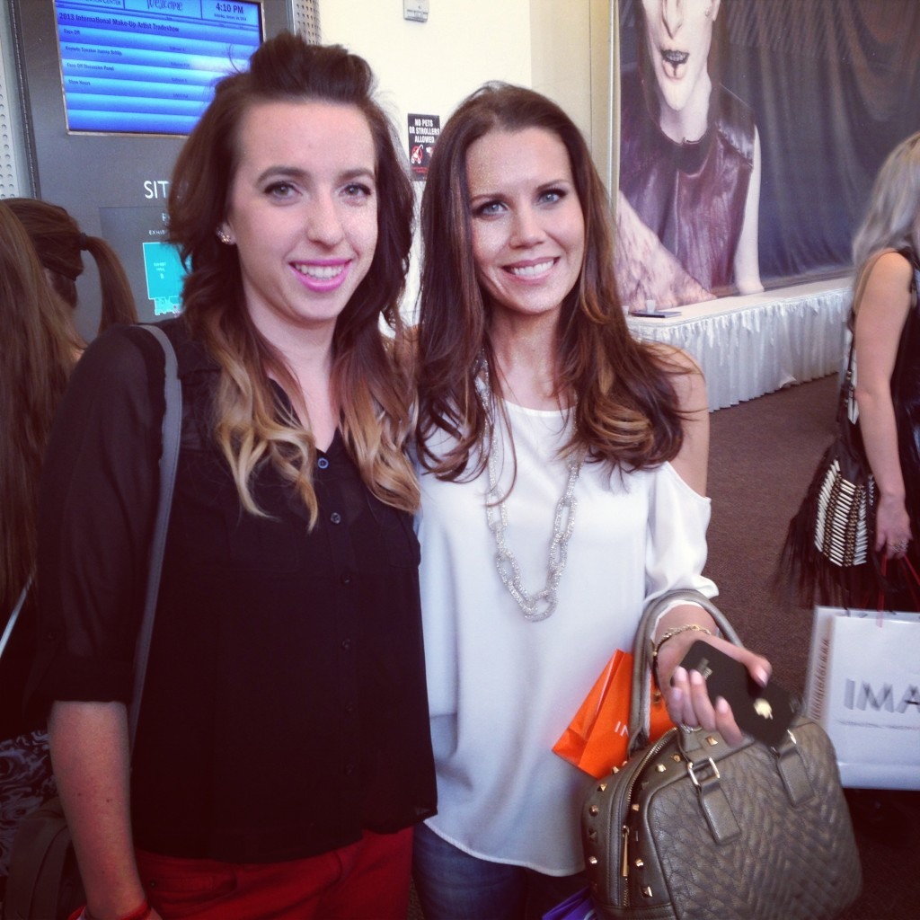 Posing with Tati of GlamLifeGuru