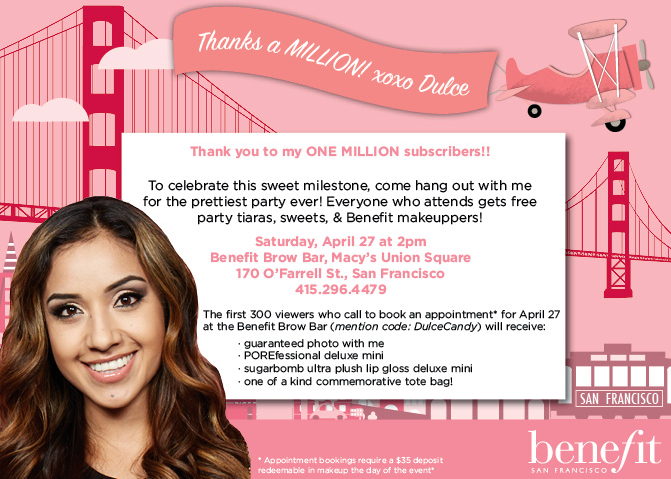 Dulce Day with Benefit San Francisco