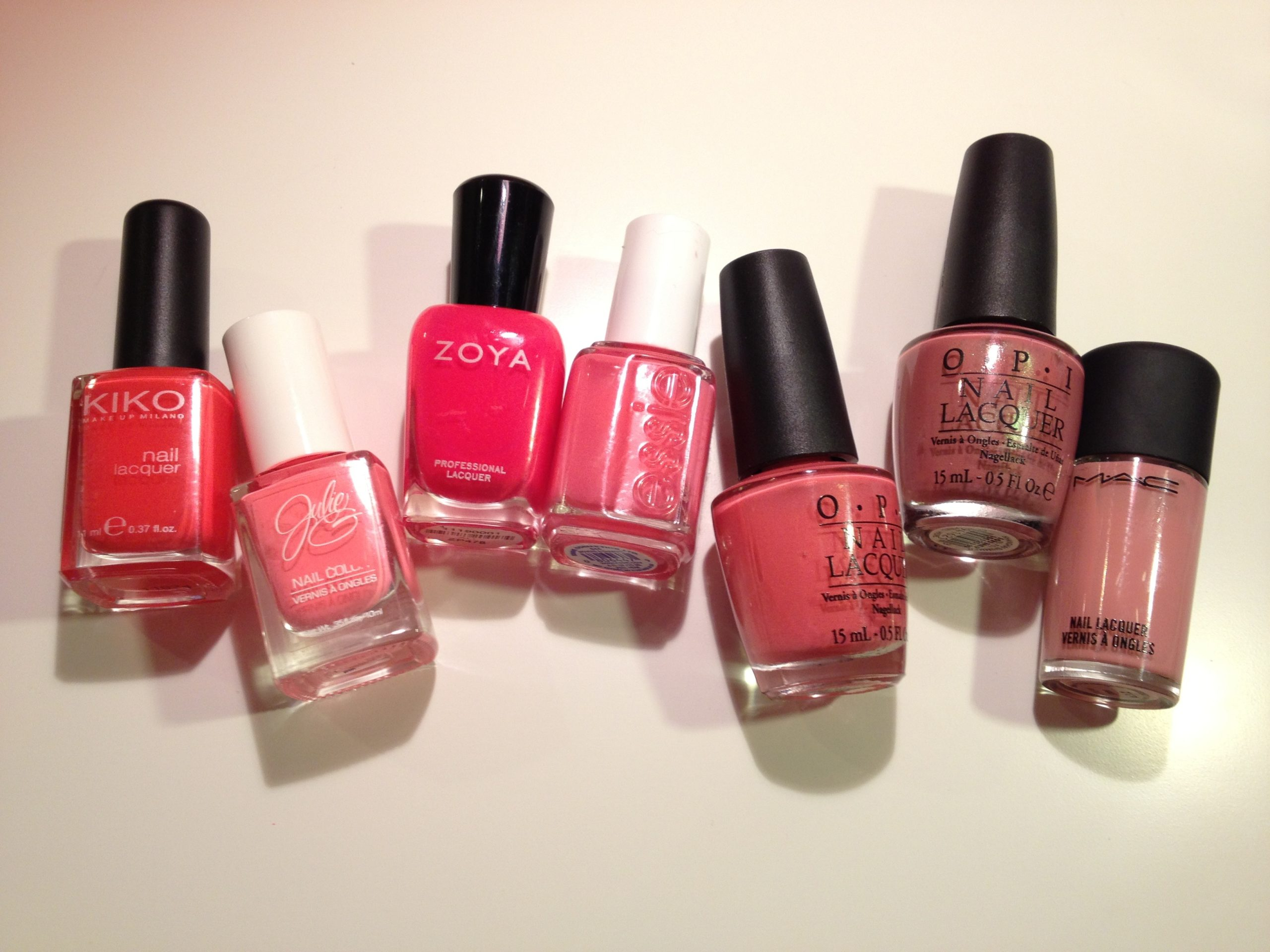 Spring Nail Polish Picks - Pinks and Corals