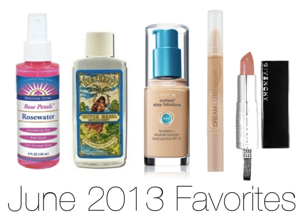 June 2013 Beauty Favorites