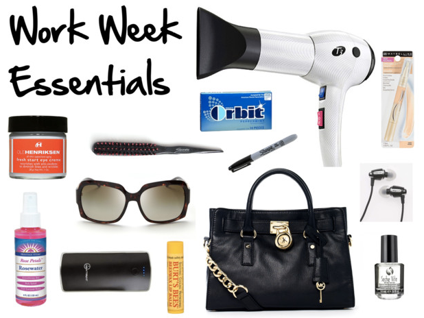My Work Week Essentials