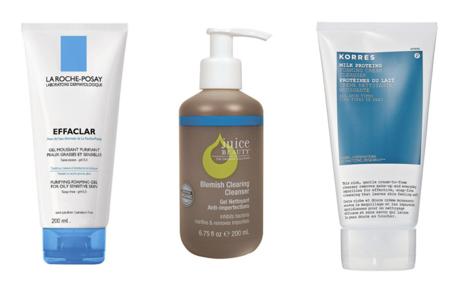Top 3 Paraben-Free Cleansers