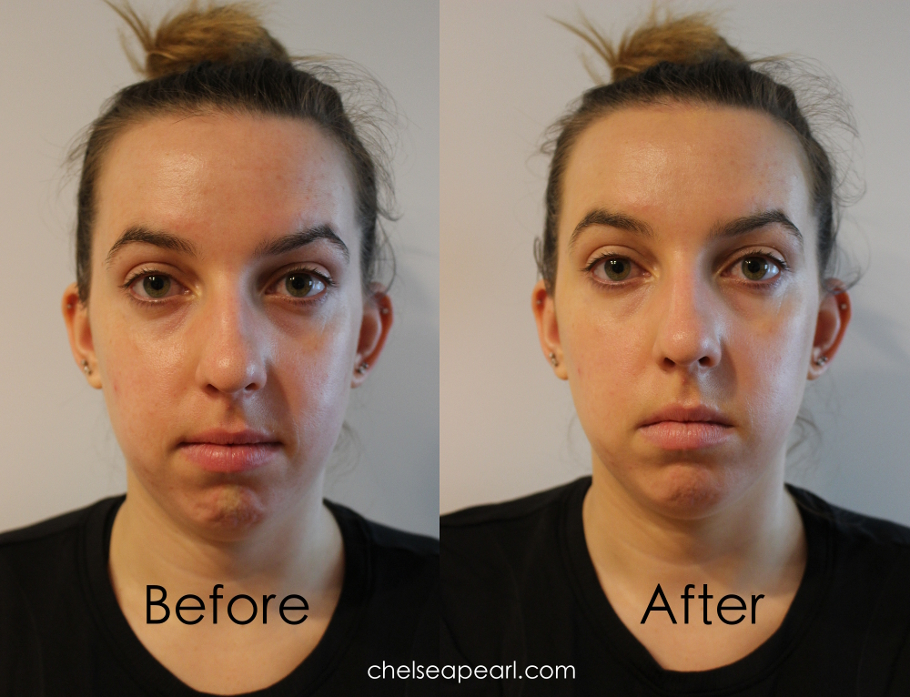 Studio Gear Hydrating CC Cream Review Before and After