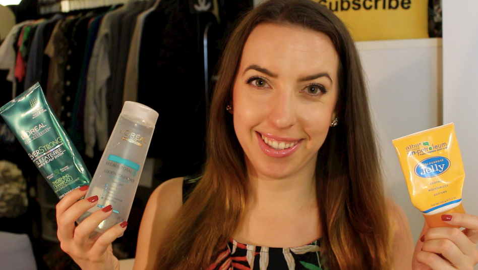August 2014 Empties - YouTube - Products I've Used Up