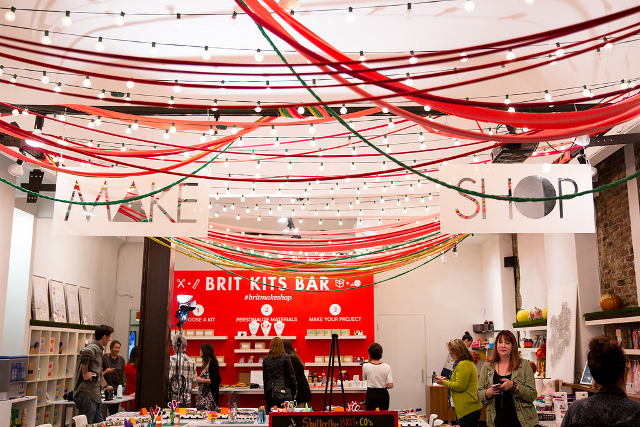 Shutterfly Holiday at Brit + Co Make Shop - Shutterfly Holiday