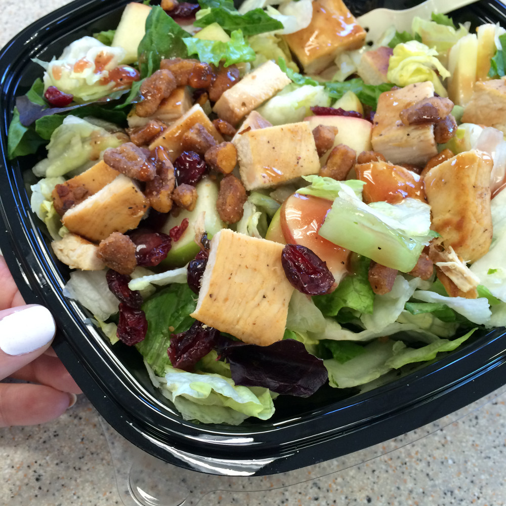 wendys apple pecan salad