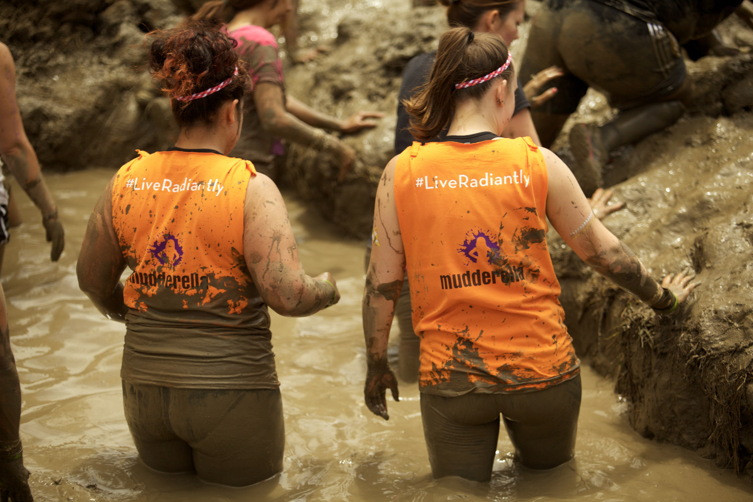 mudderella - mud run