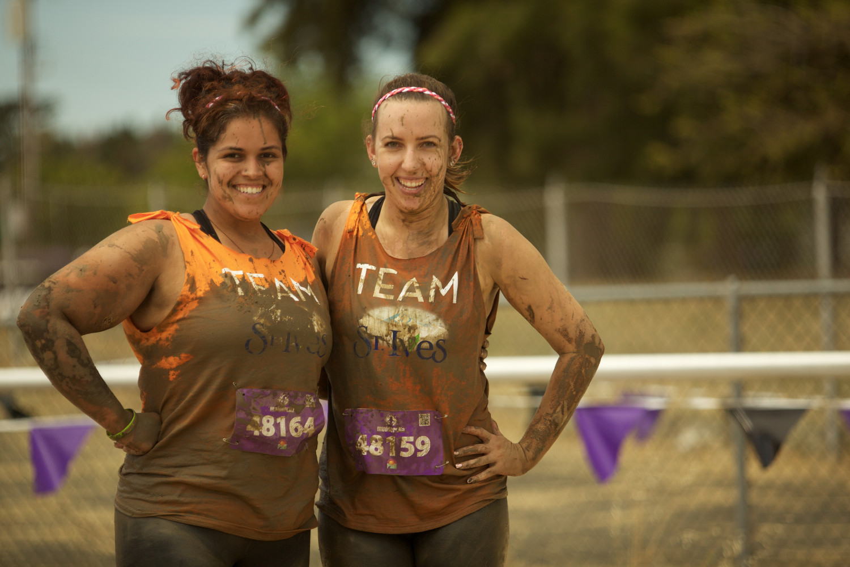 mudderella - muddy girls