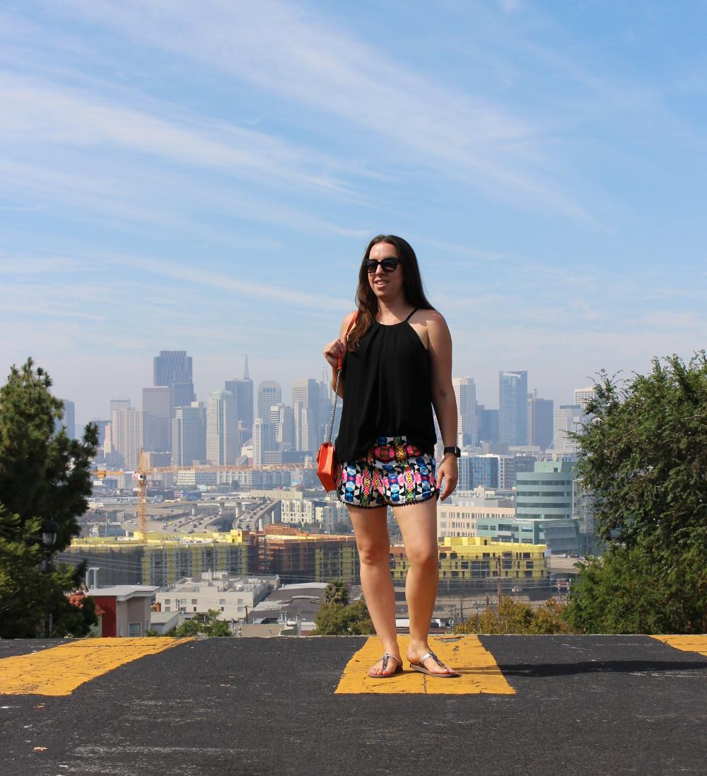 ugg sandals - sf blogger