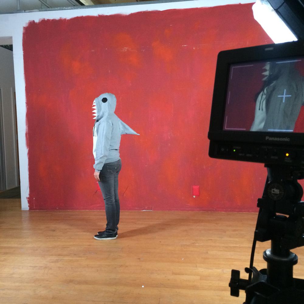 shark hoodie diy costume