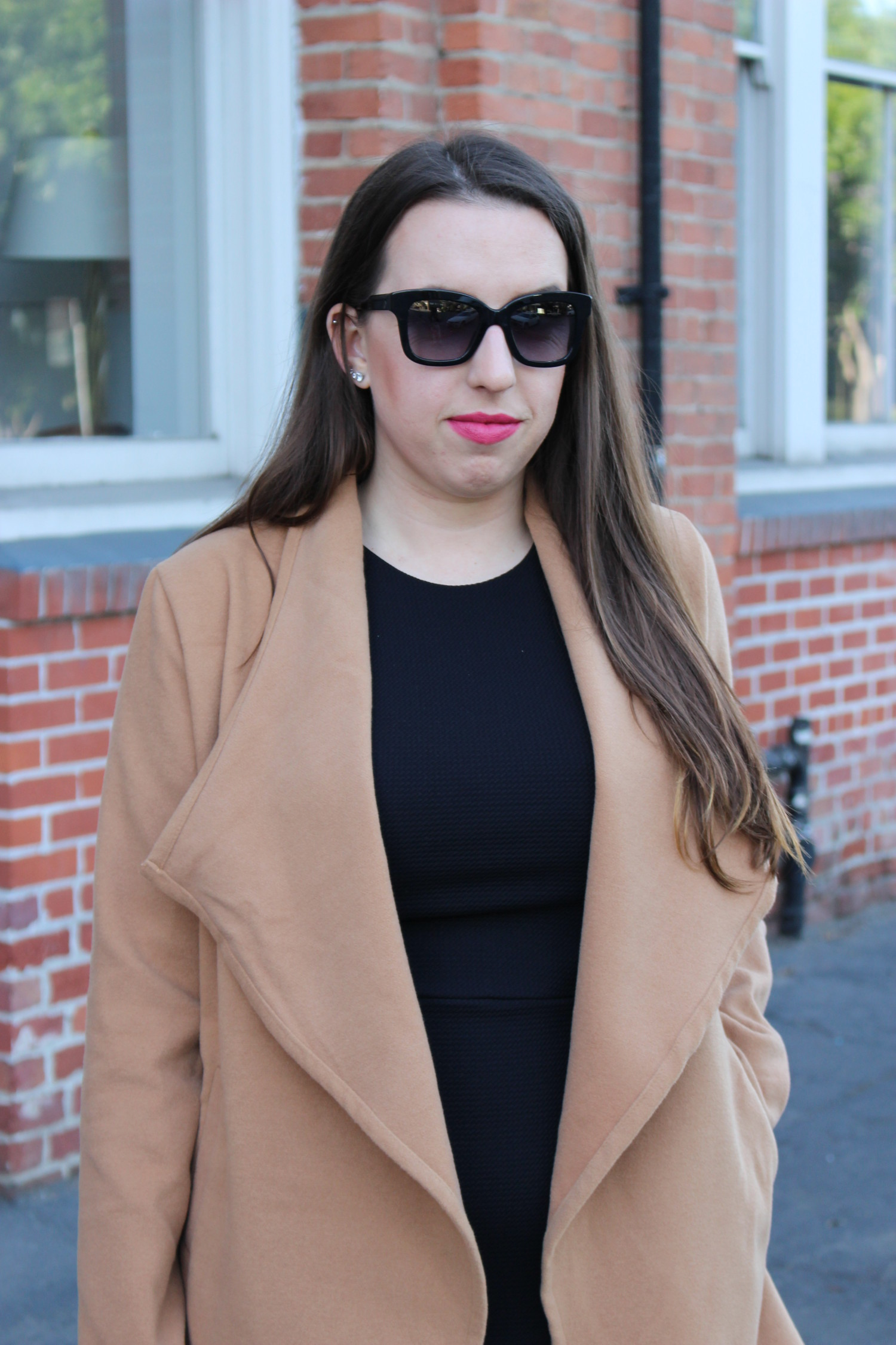 camel coat - san francisco fashion blogger