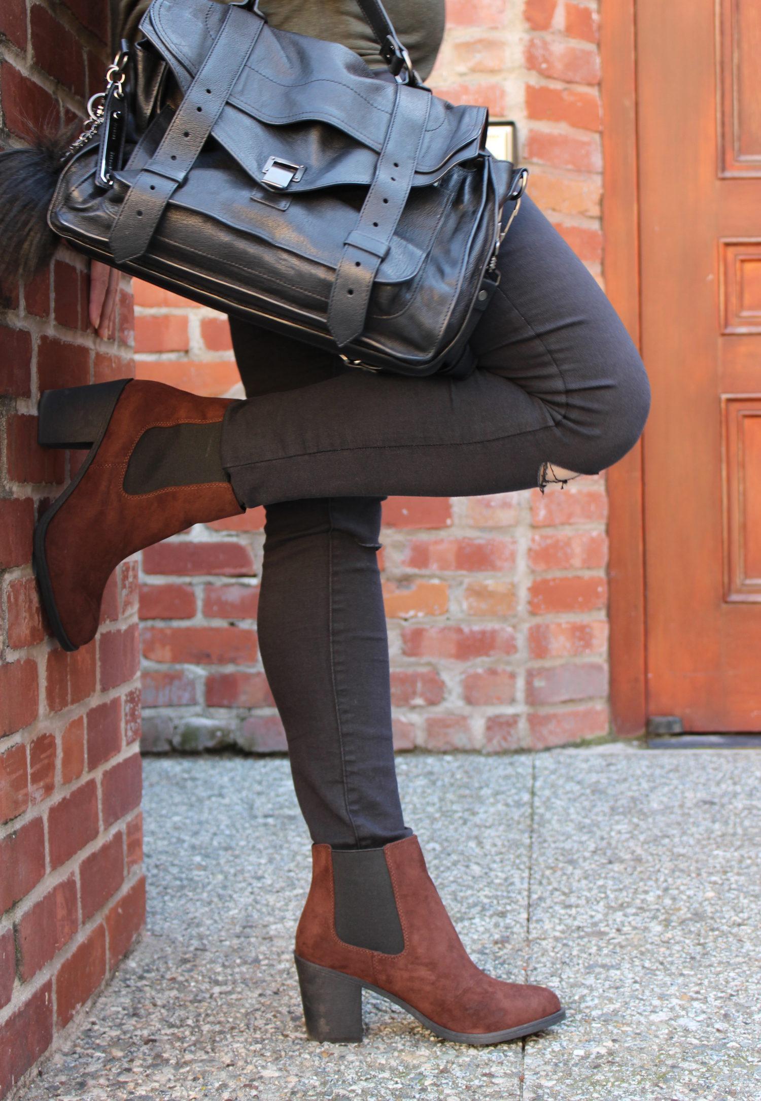 san francisco blogger - zara black skinny jeans