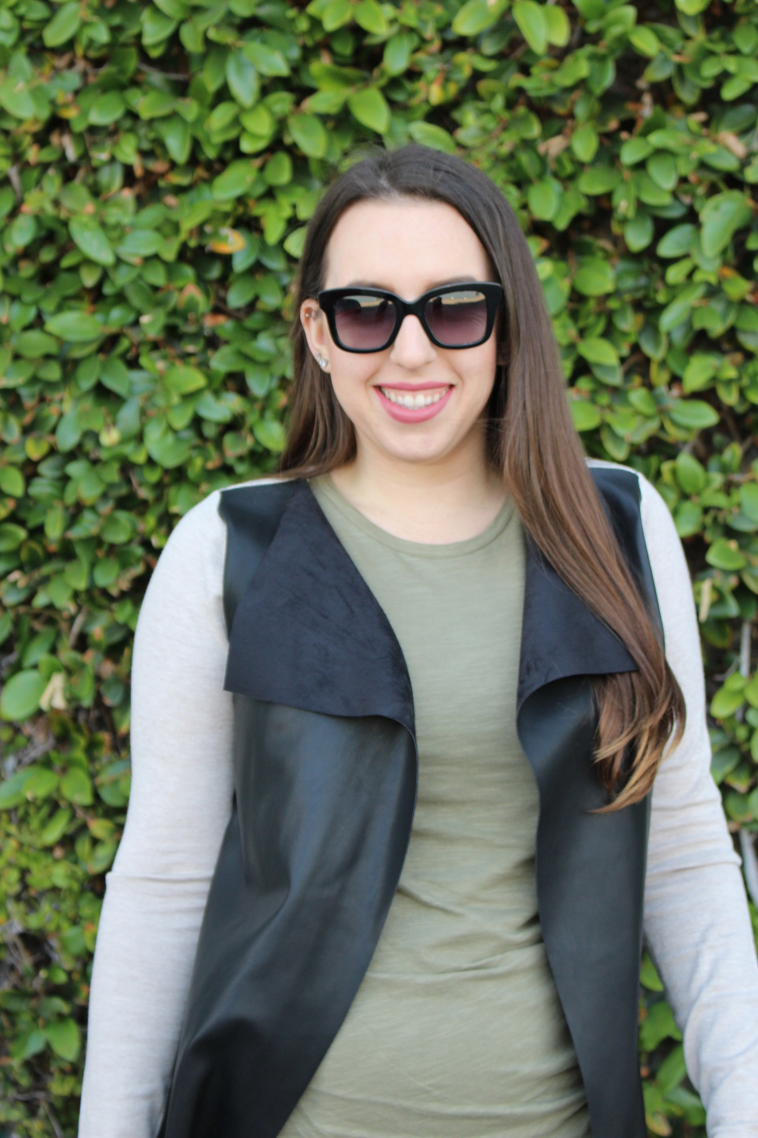 sf blogger - olive dress
