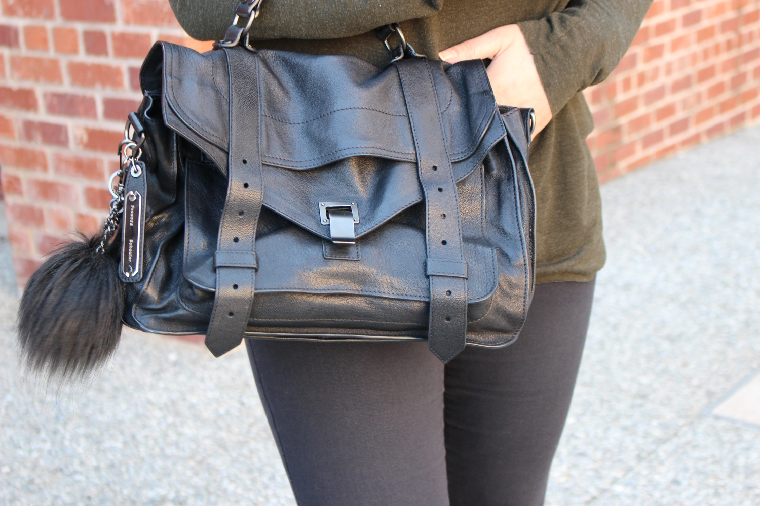 sf blogger - proenza schouler ps1 satchel