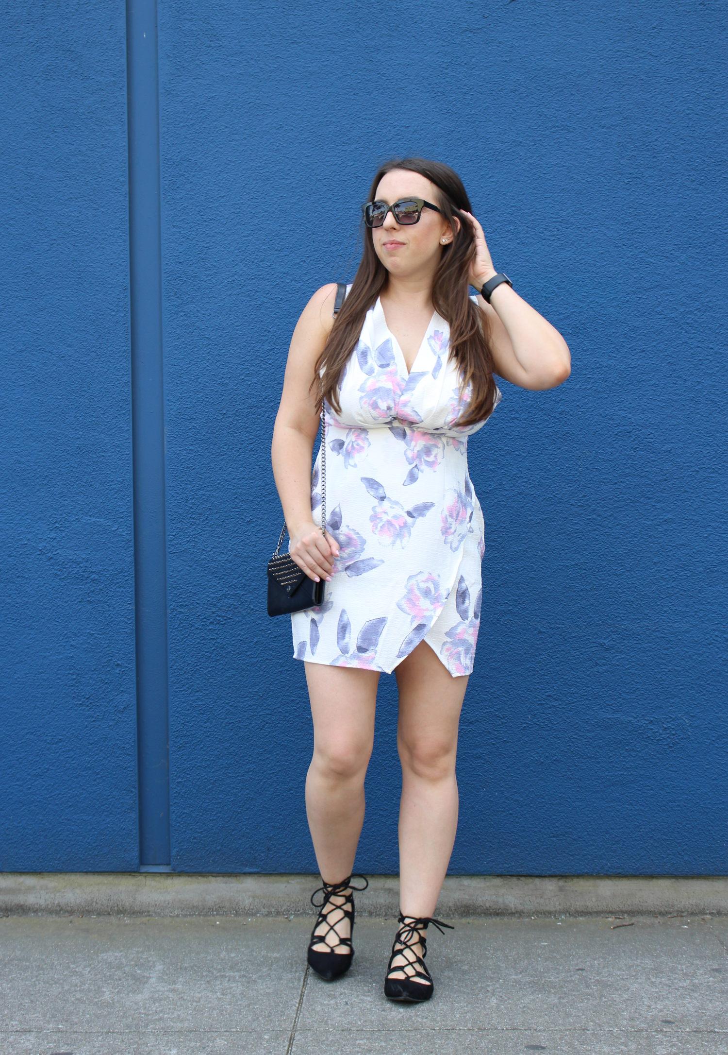 tobi pastel floral dress