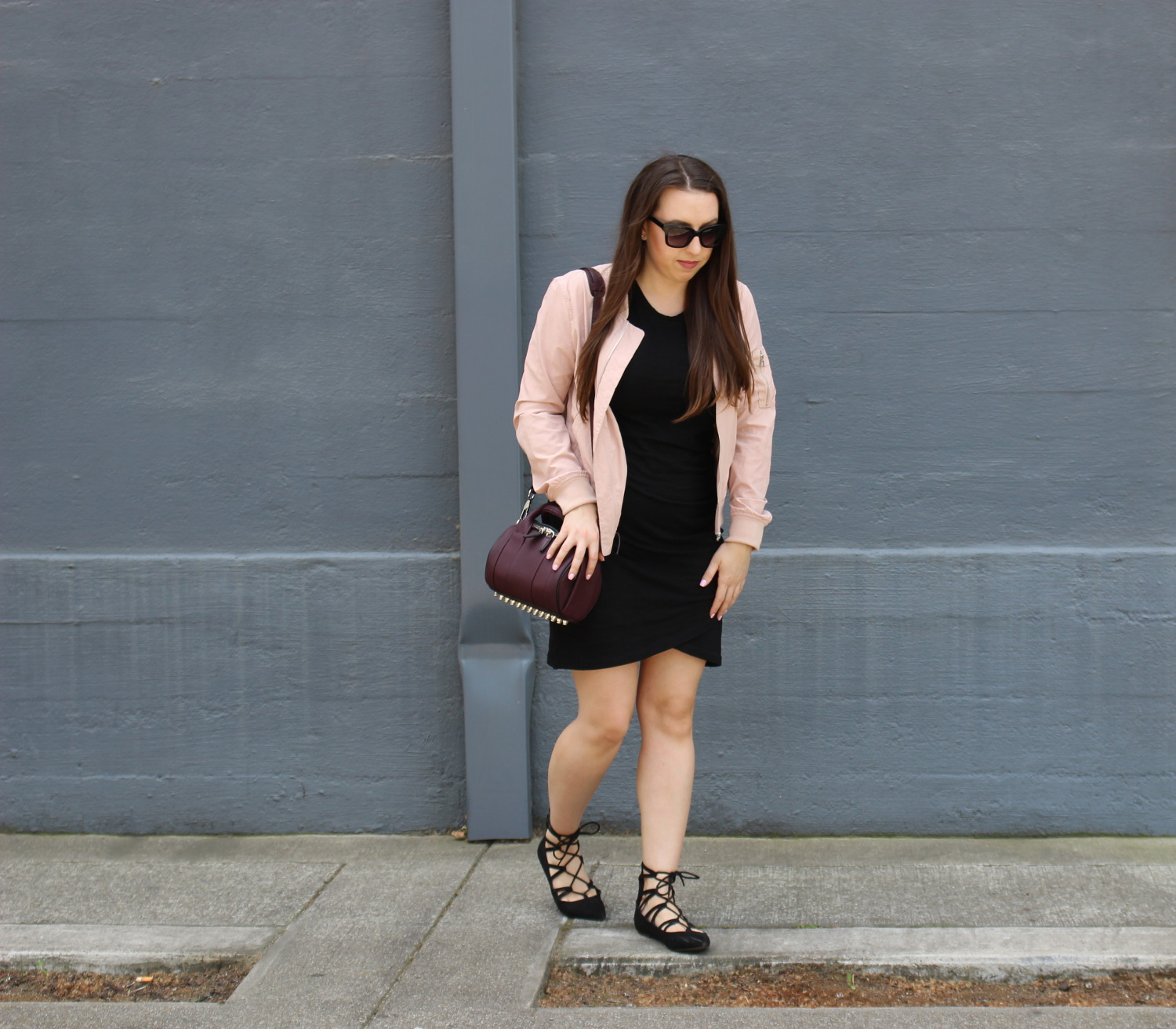 blush bomber - san francisco fashion blogger