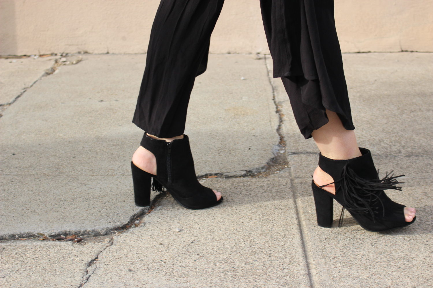4th and reckless fringe heels