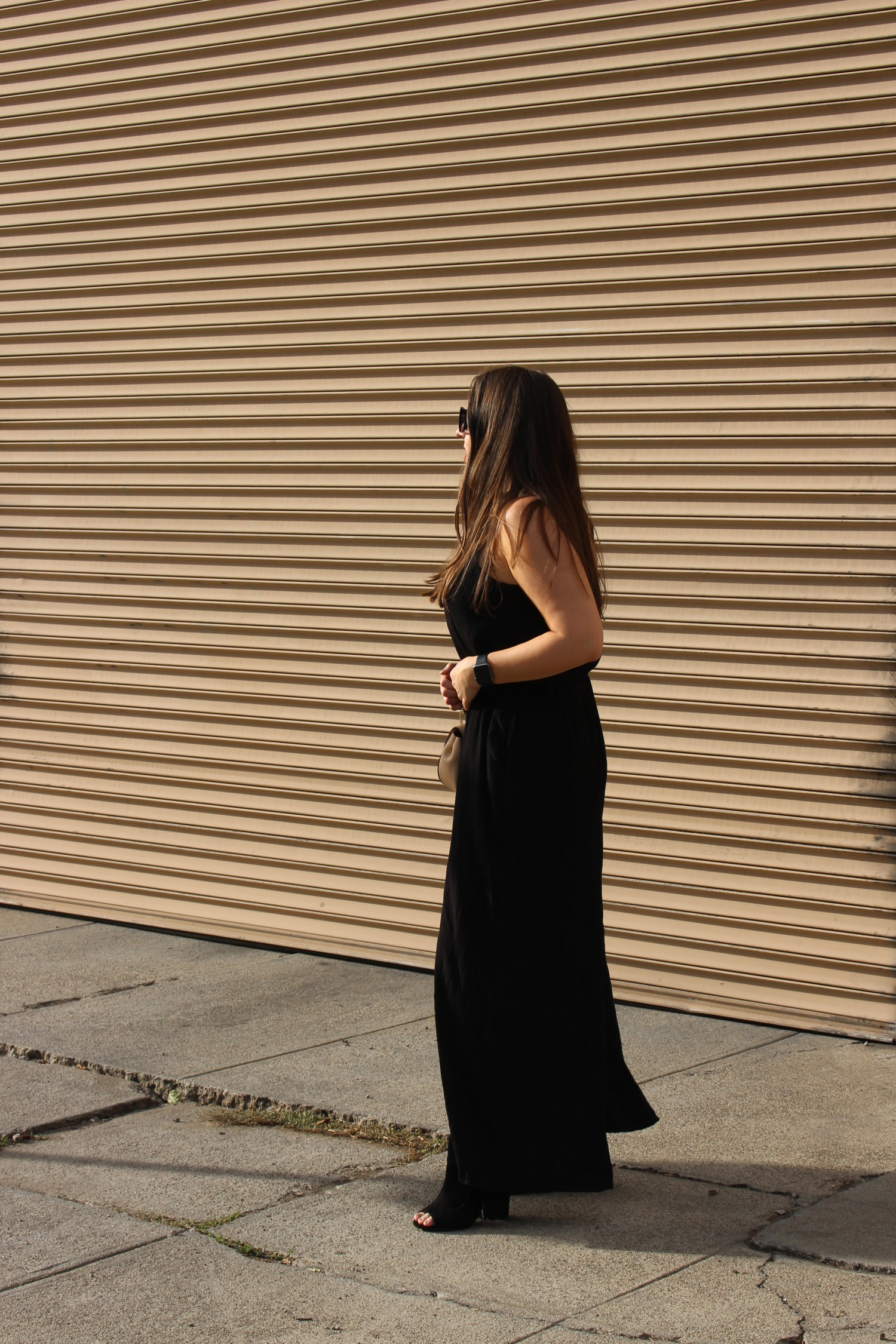 asos black jumpsuit for holiday - sf fashion blogger