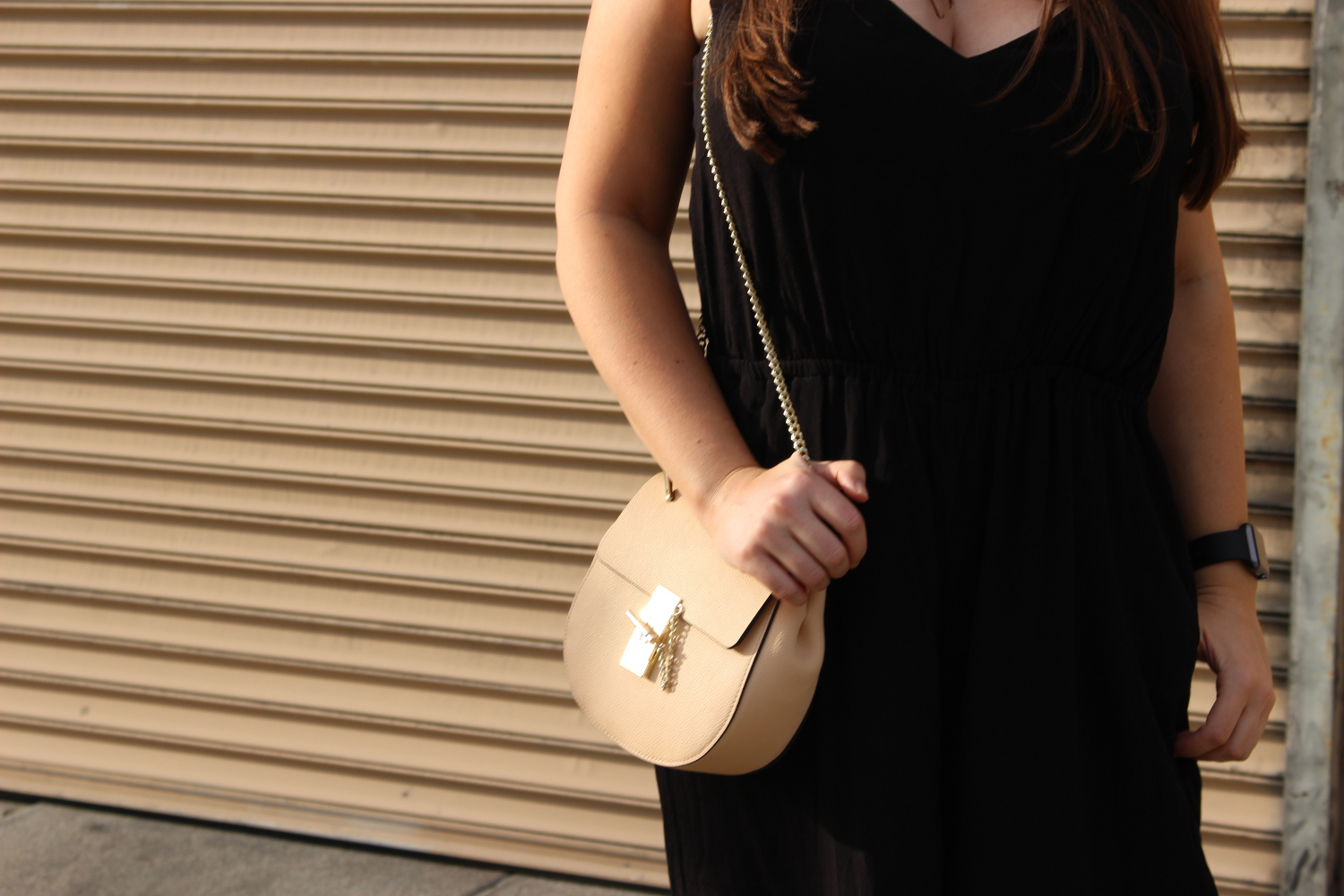 beige chloe drew bag - sf fashion blogger