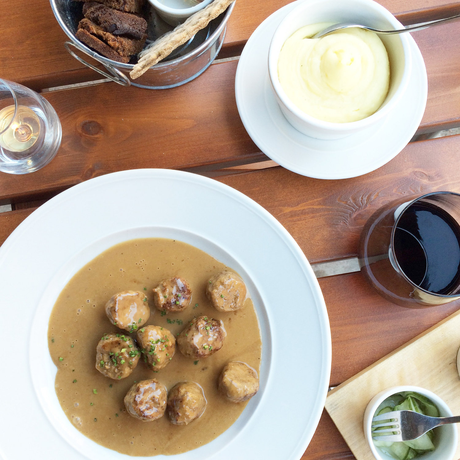 where to eat in stockholm - swedish meatballs