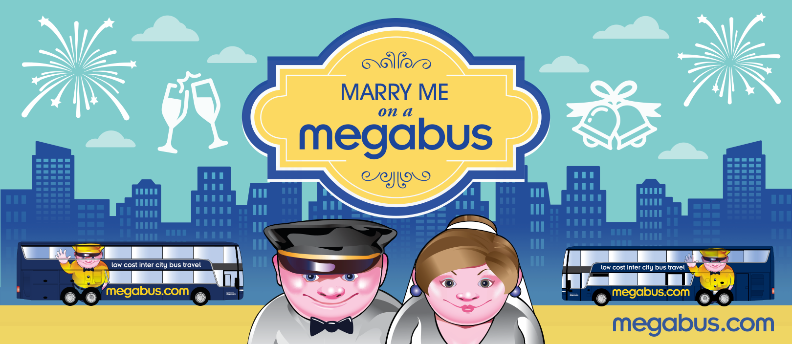 Marry me on a Megabus Contest