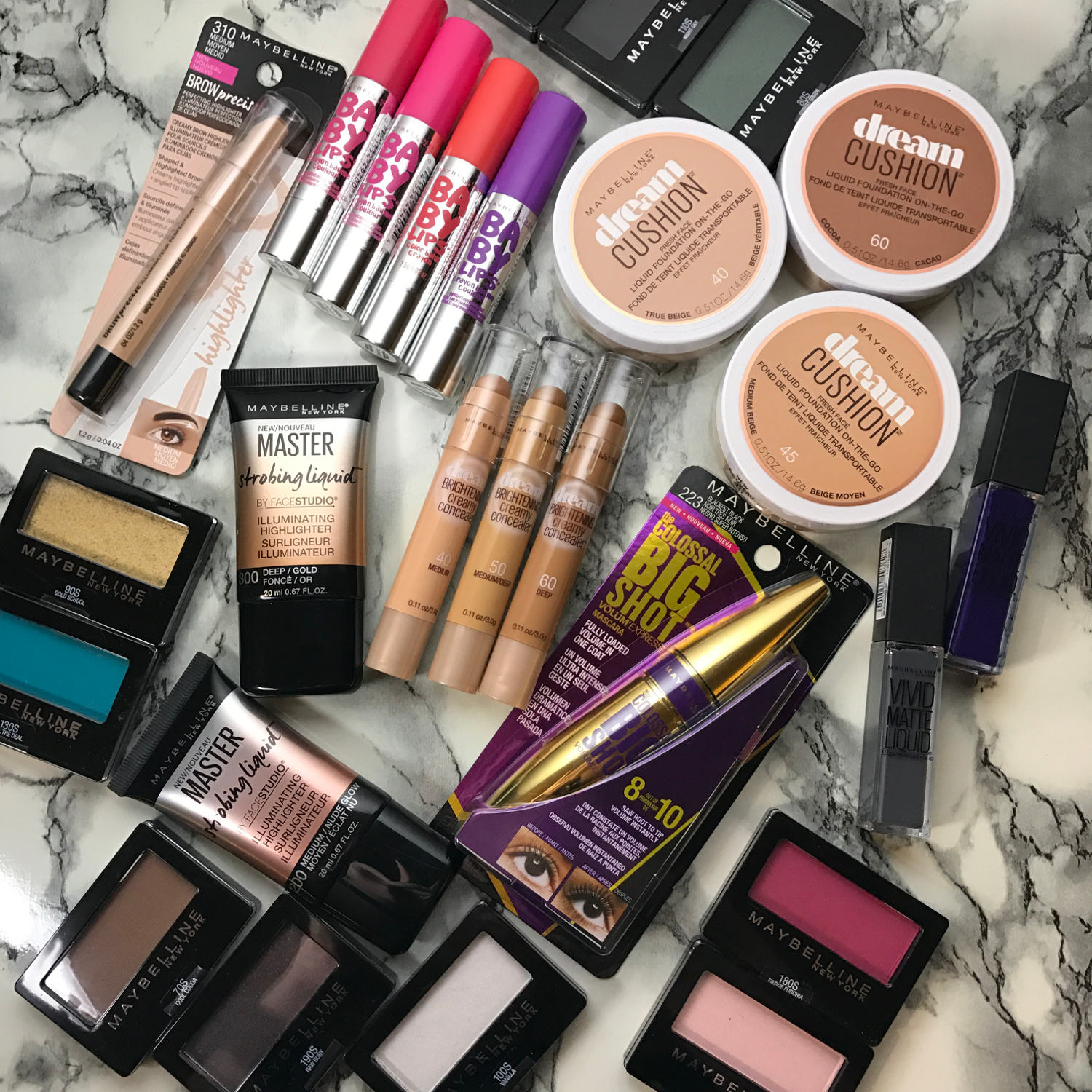 maybelline giveaway 2017