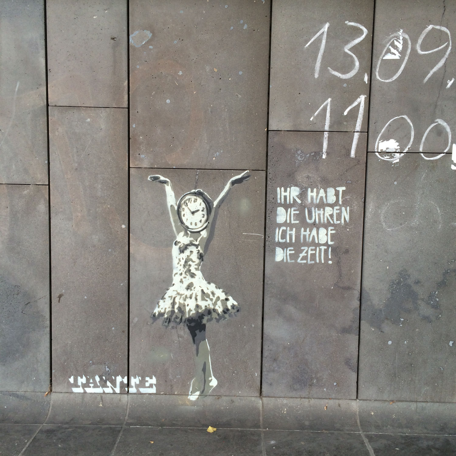 Banksy-Inspired Street Art in Berlin
