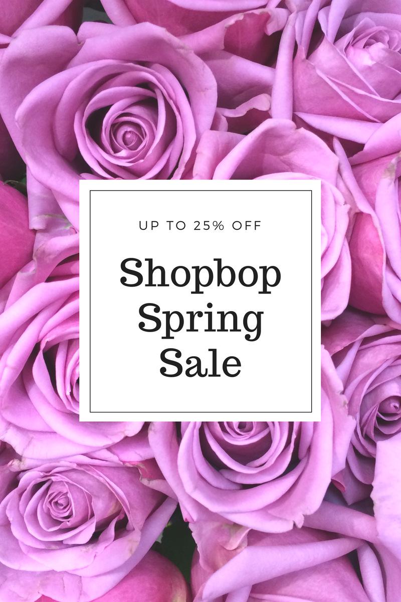 shopbop sale - spring 2017
