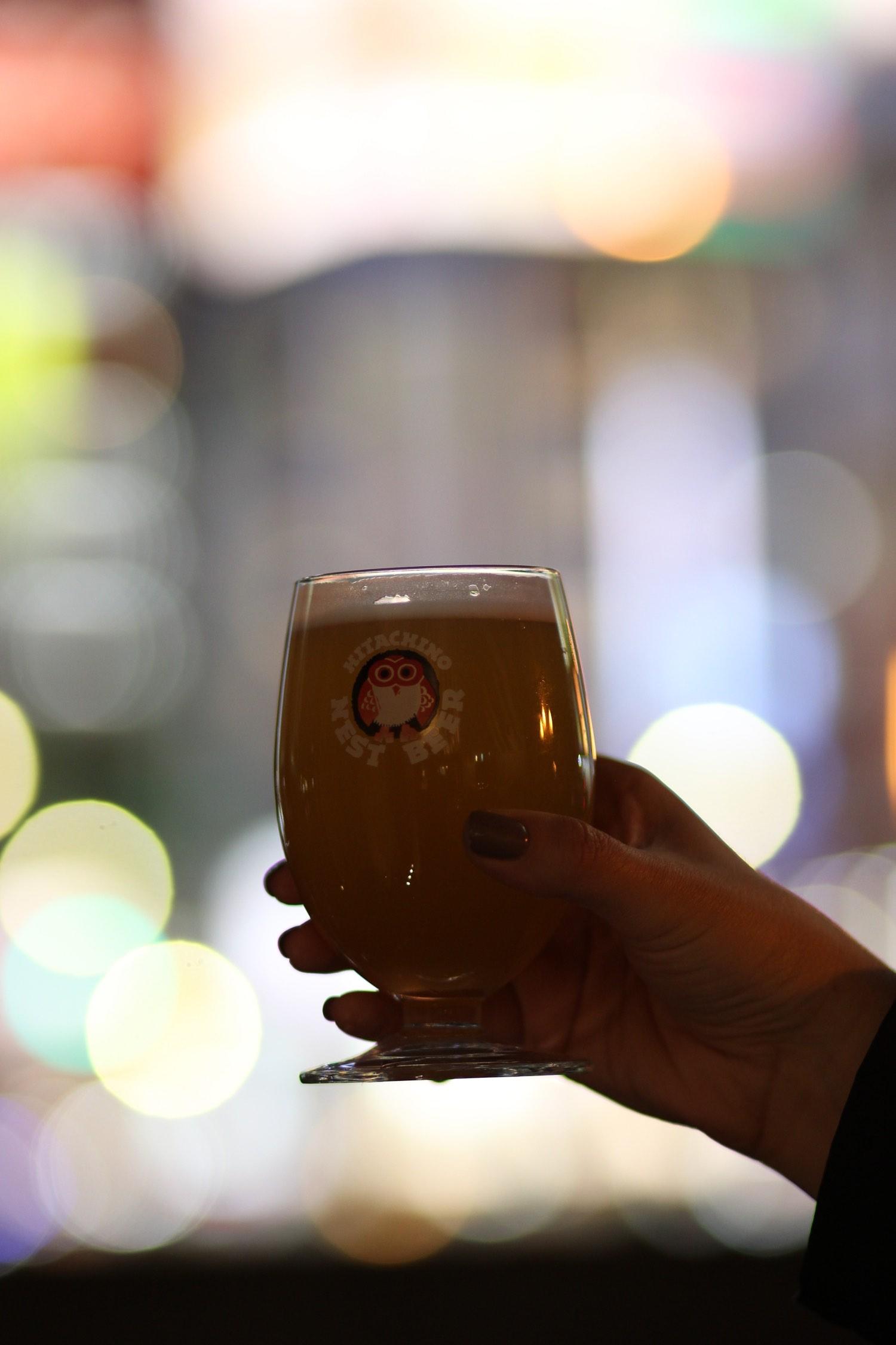 hitachino brewery in ginza tokyo