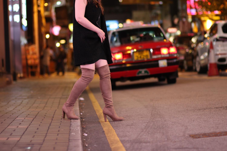 otk boots - affordable stuart weitzman dupes