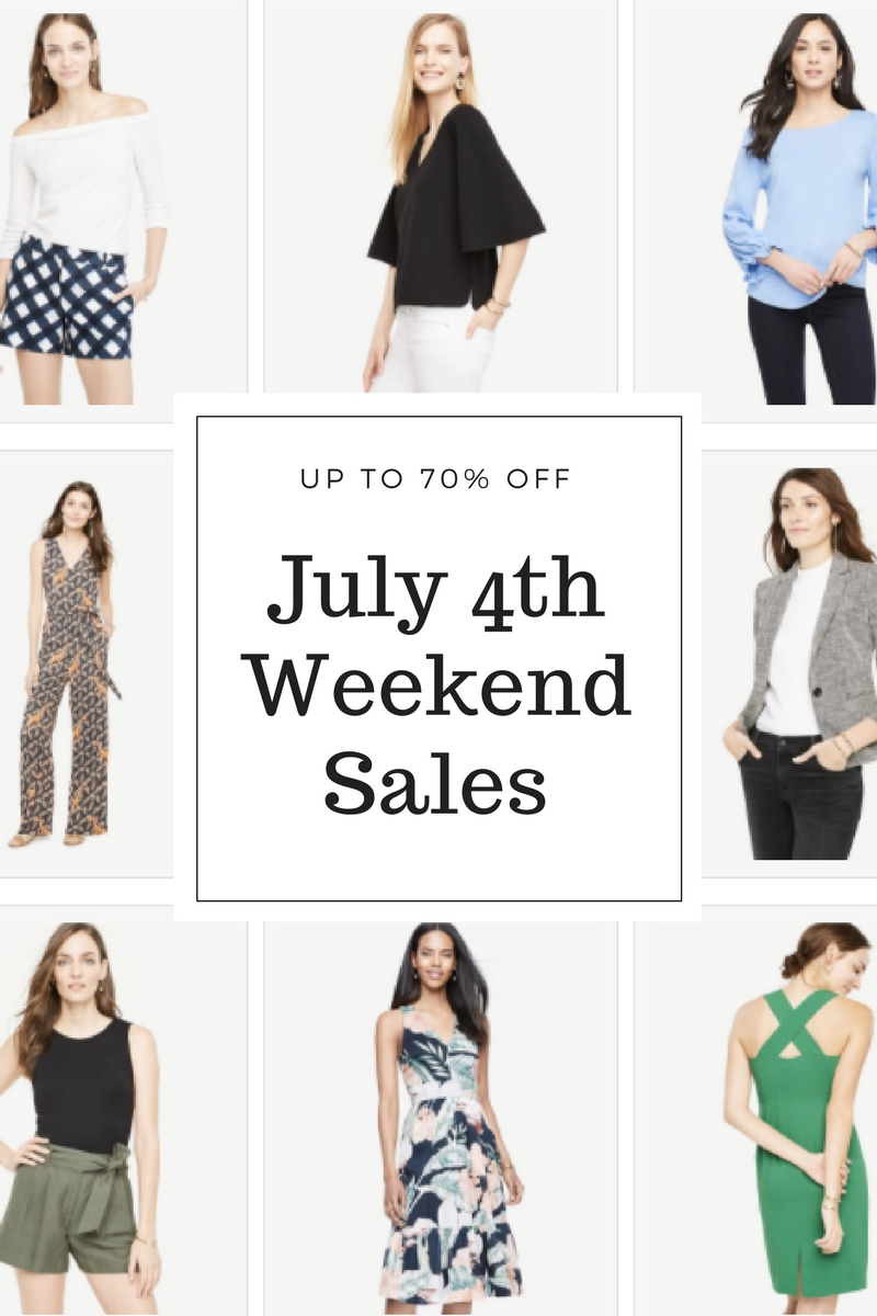 July 4th Weekend Sales 2017