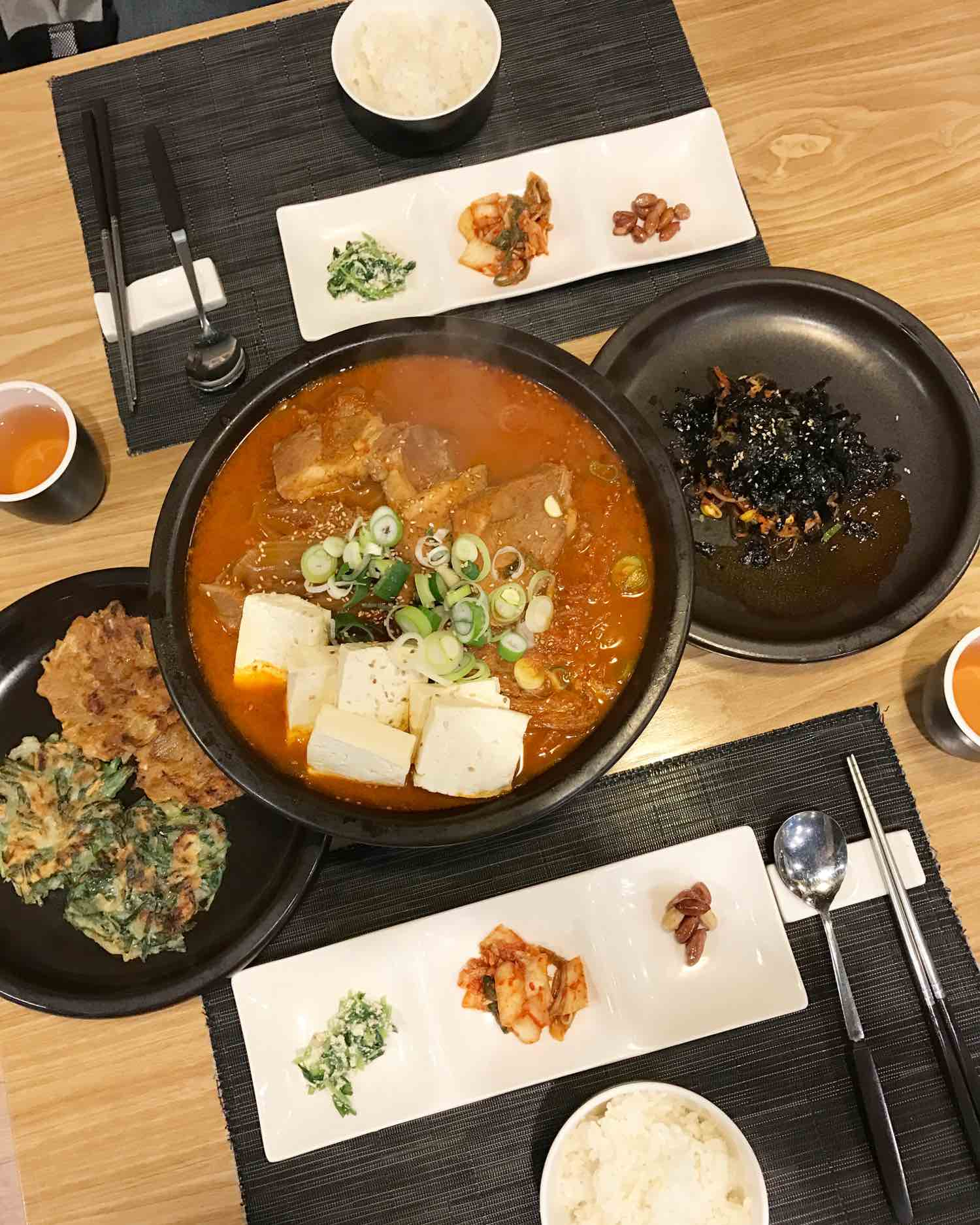 korean food in gangnam