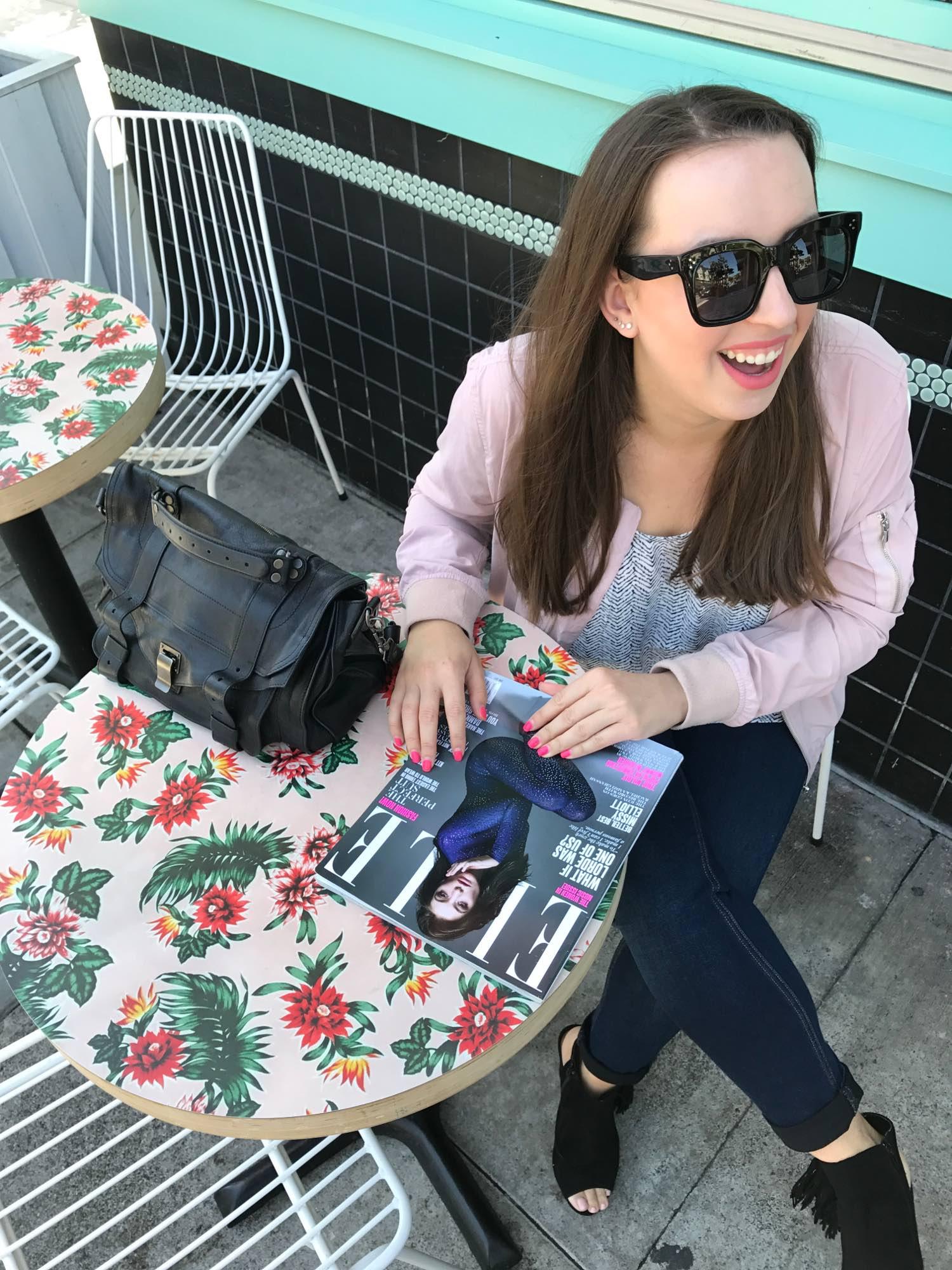 san francisco blogger - chelsea pearl - celine tilda sunglasses