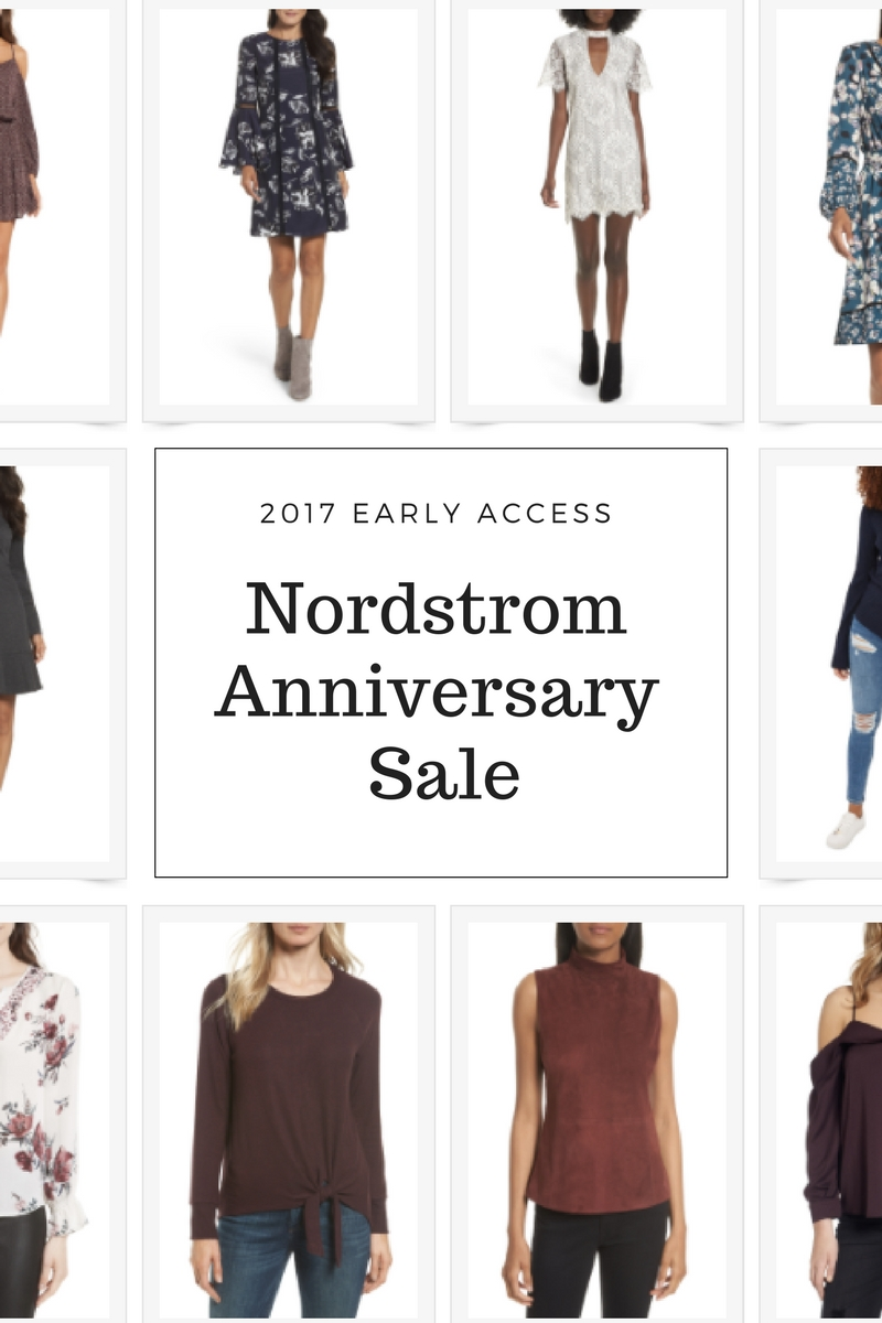 Nordstrom Anniversary Sale 2017 - Early Access