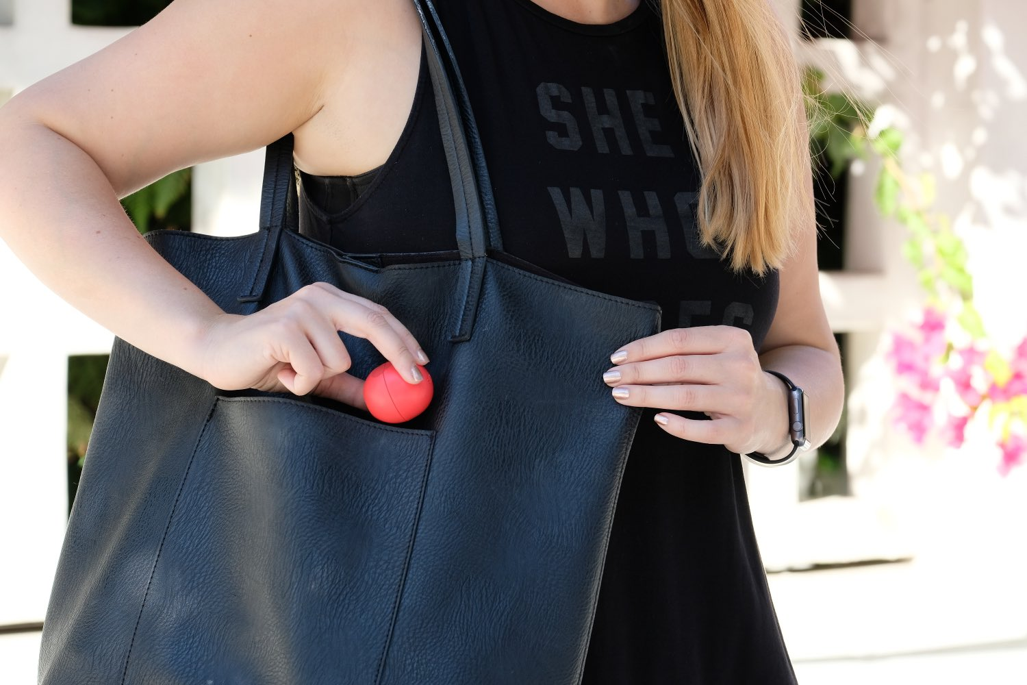 eos lip balm purse essential