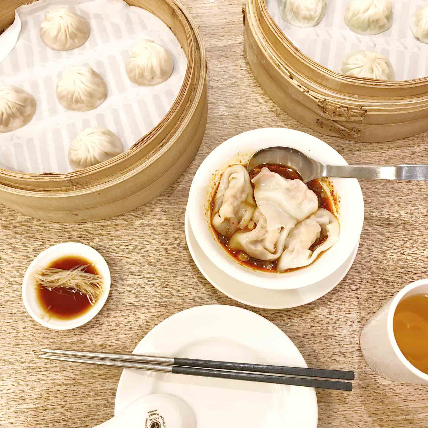 xiao long bao at din tai fung taipei