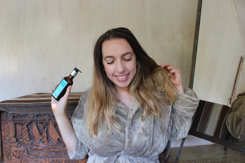 moroccanoil balayage hair