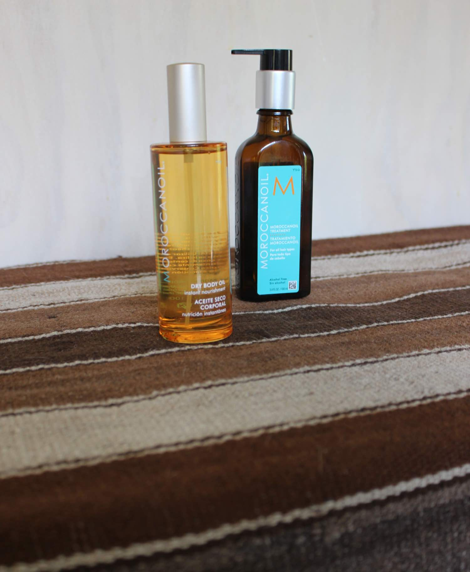 moroccanoil hair and body products