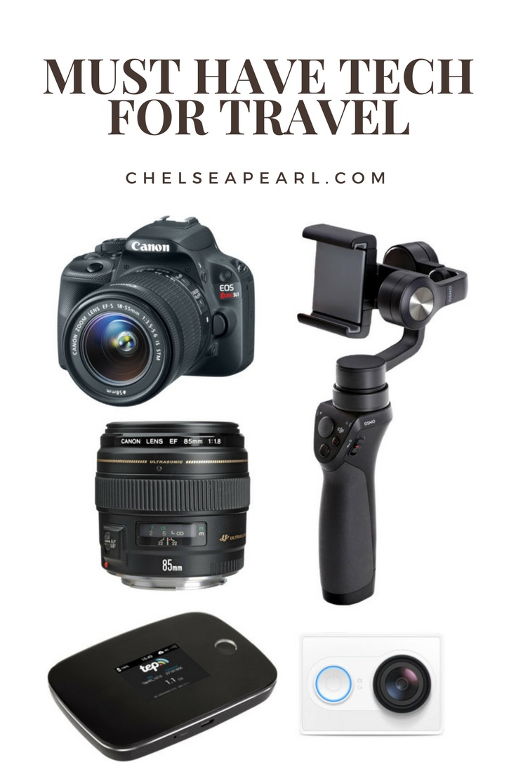 Must Have Tech for Travel - DSLR, Gimbal, Mifi