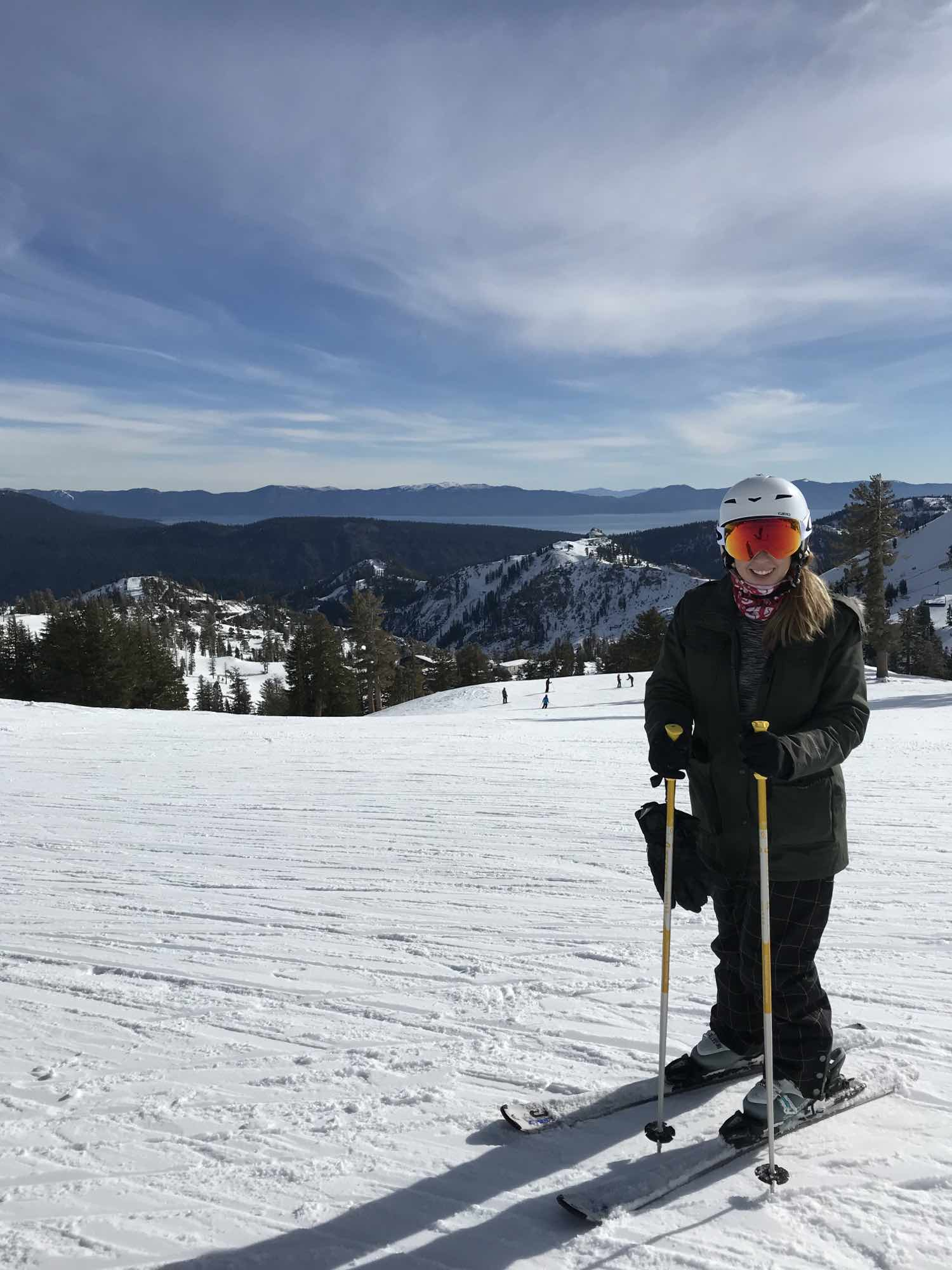 Adult Ski Lessons at Squaw Valley