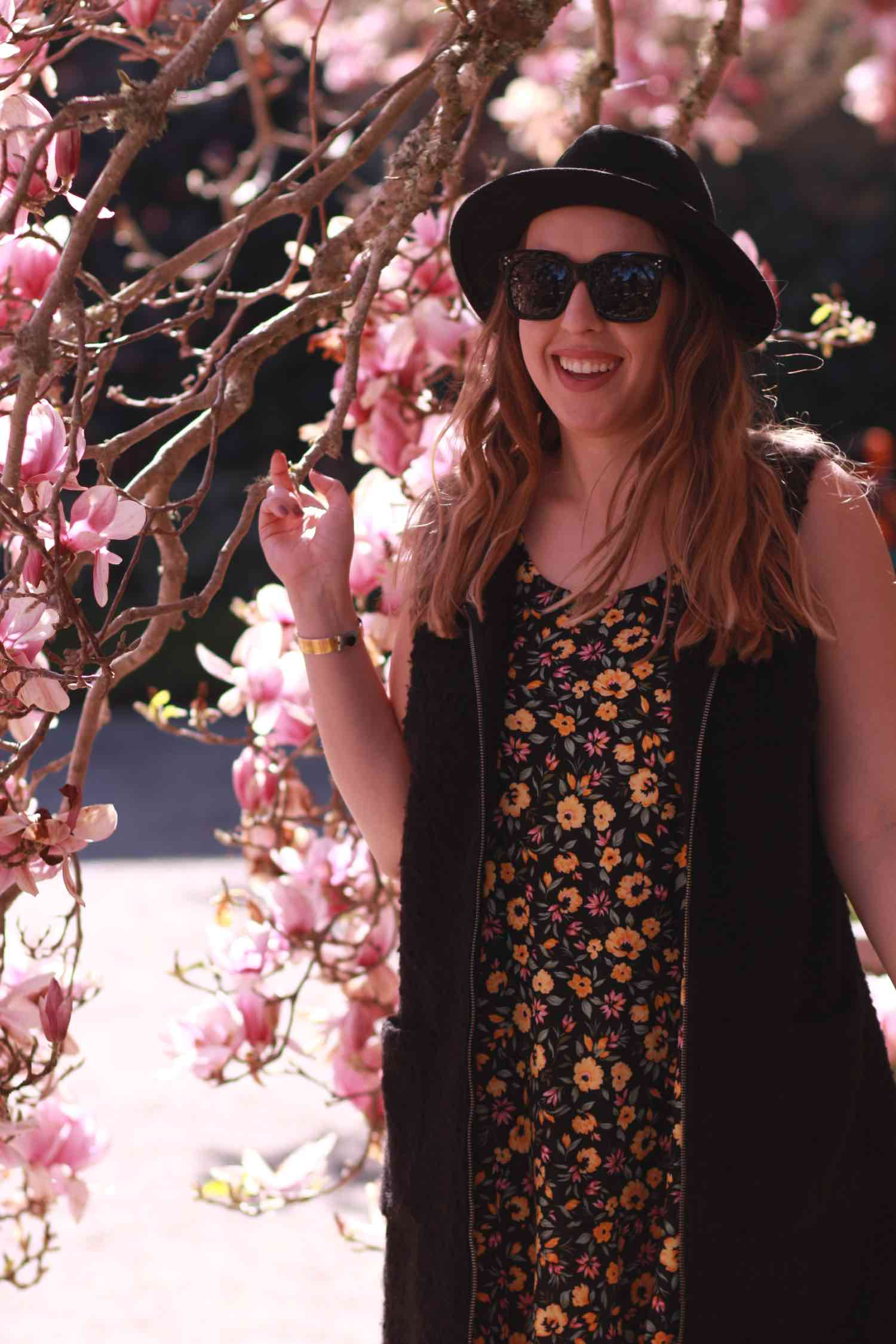 Spring Florals at Filoli - Bay Area Fashion Blogger