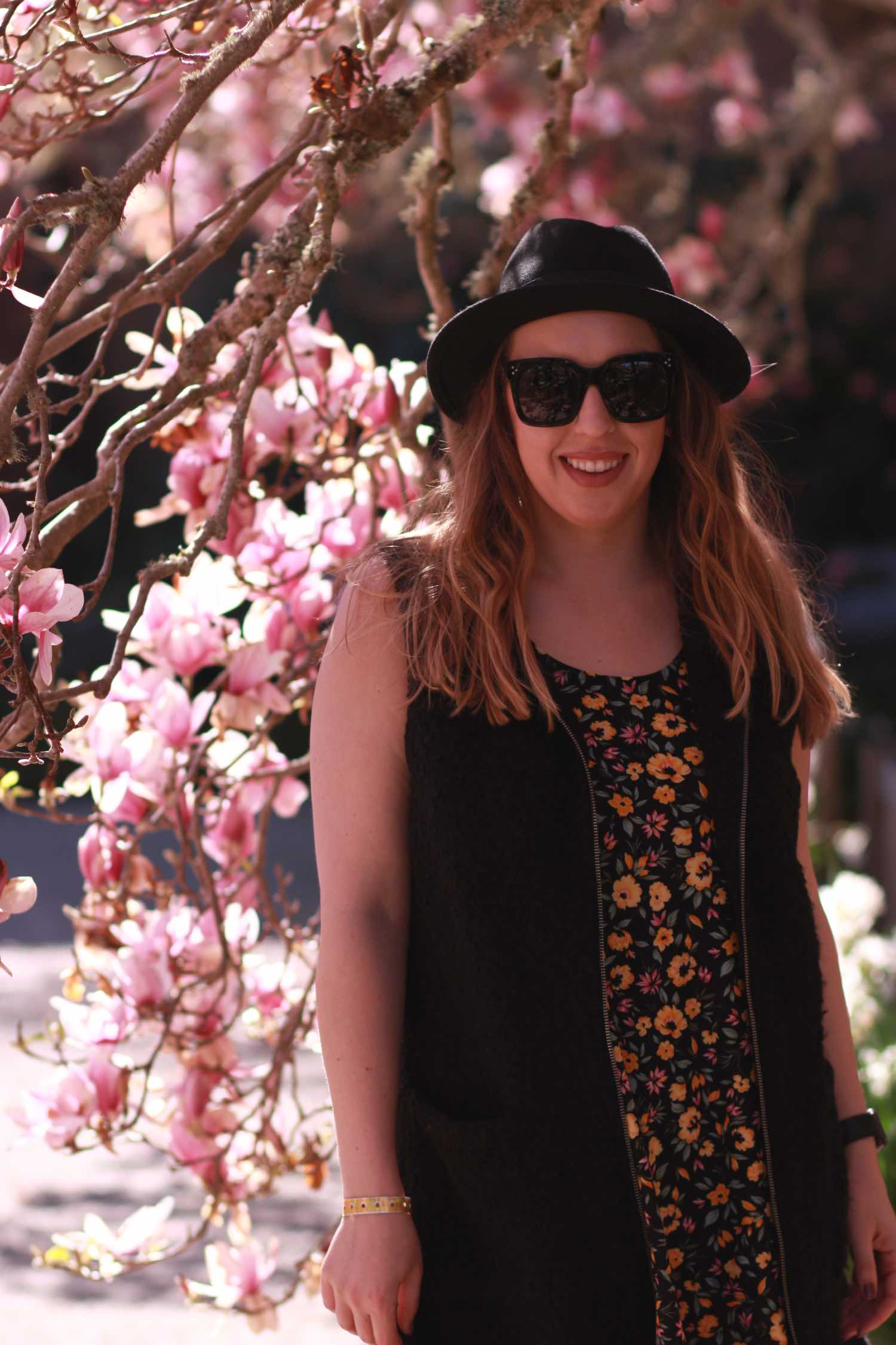 Spring Florals at Filoli - Spring Outfit Ideas
