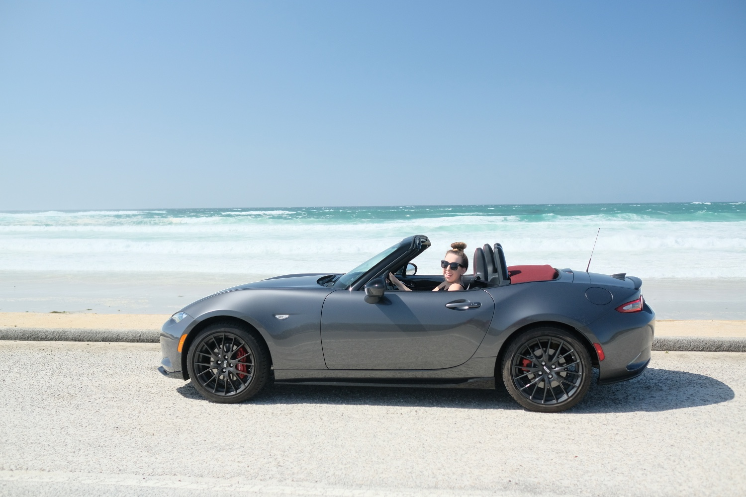 2018 Mazda MX-5 Miata Club Machine Gray