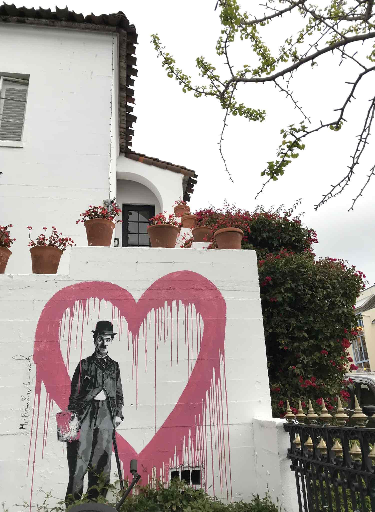 Carmel Heart Street Art