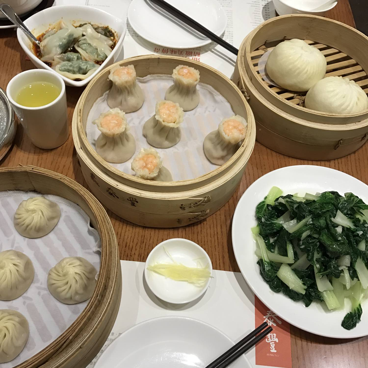 Dim Sum at Din Tai Fung Hong Kong