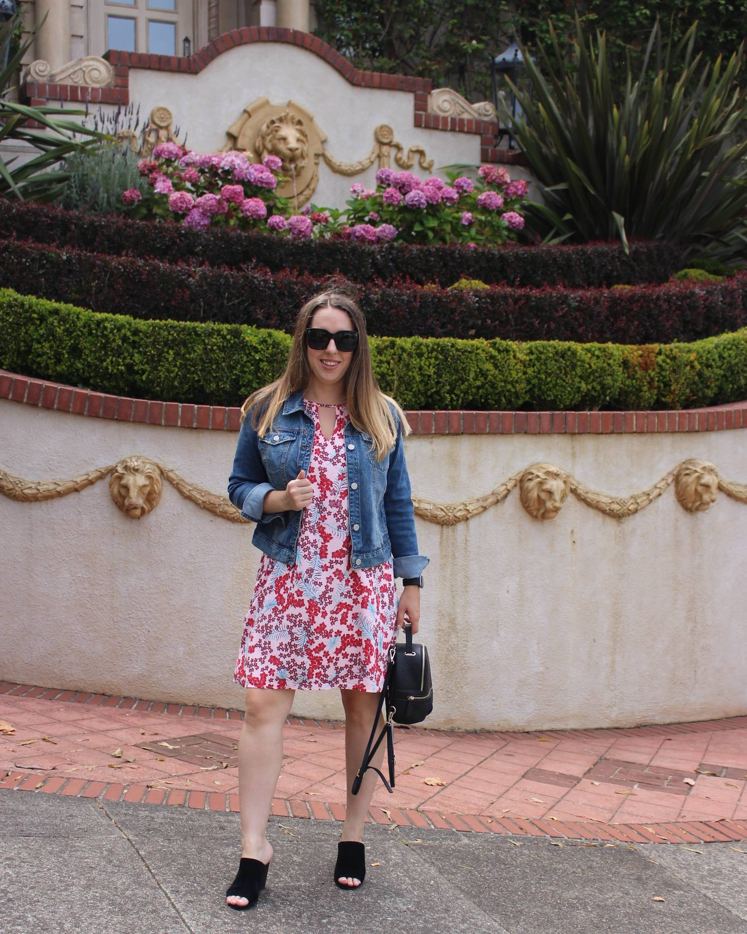 Kohl's Back To School - Candie's dress and Mudd jean jacket
