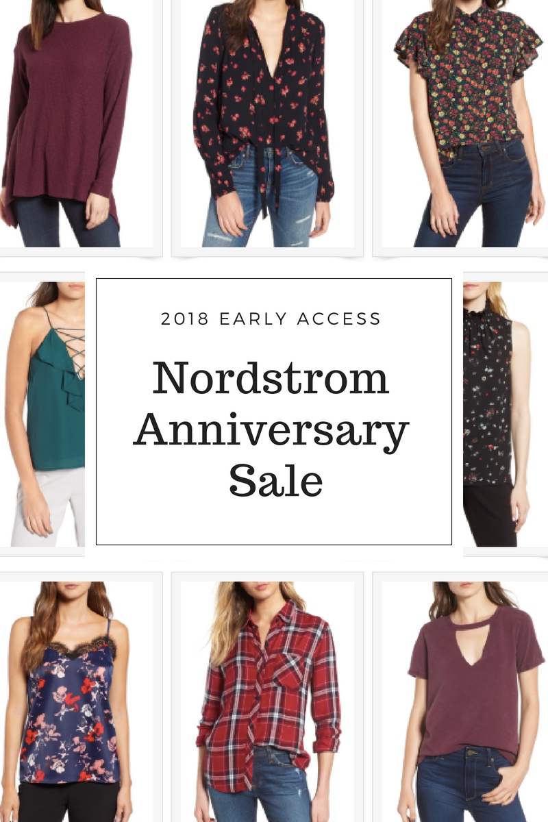 Nordstrom Anniversary Sale 2018 - Early Access Picks