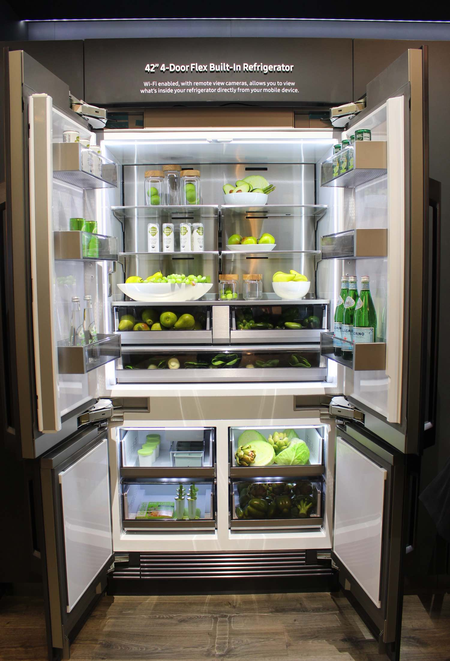 Samsung Chef Collection - 4 Door Refrigerator