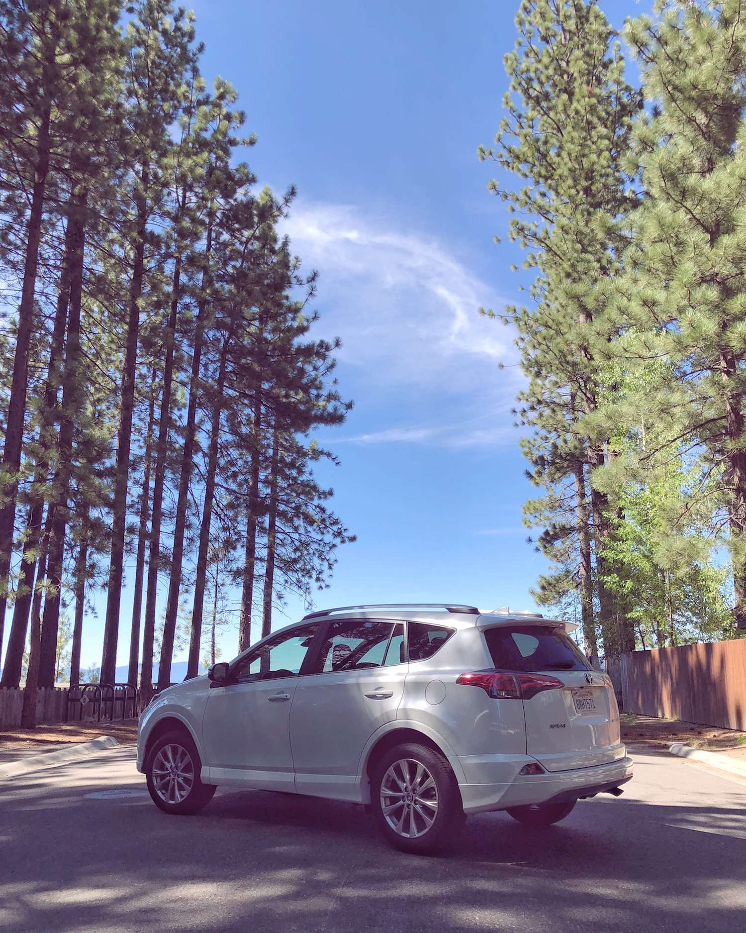 Let's Go Places - 2018 Toyota RAV4 Platinum - Summer in Lake Tahoe